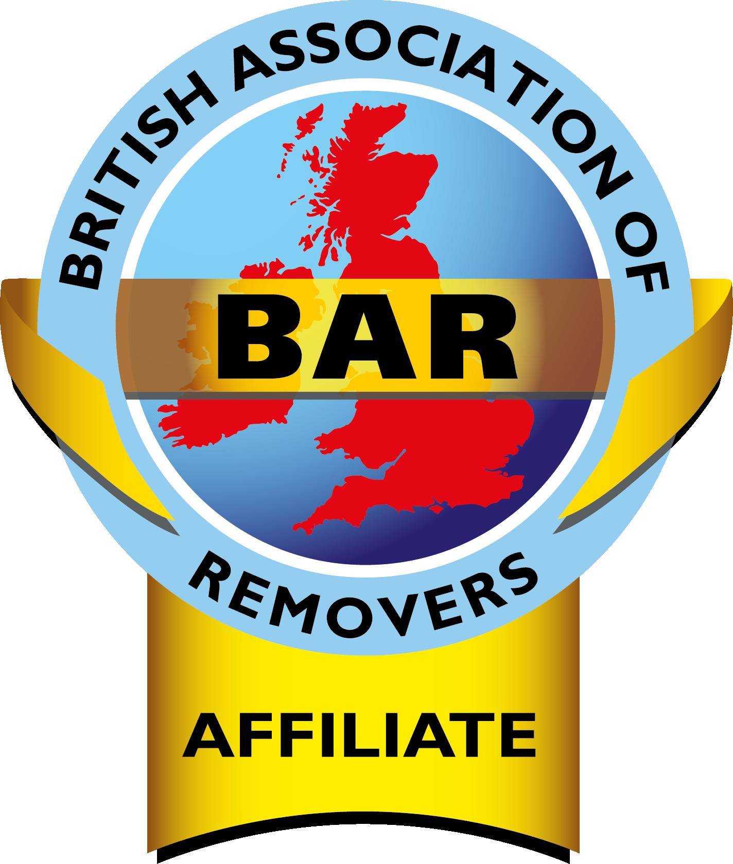BAR British Association of Removers