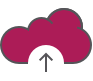 Crewpro data stored in the cloud icon