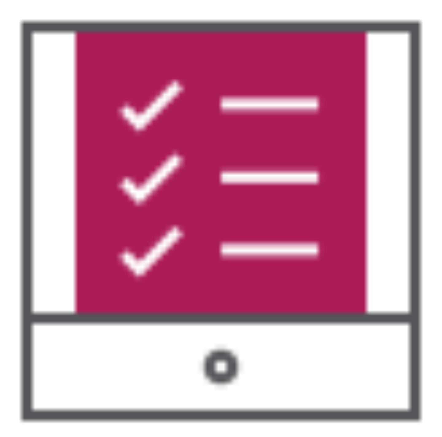 Crewpro packing Inventory app check icon