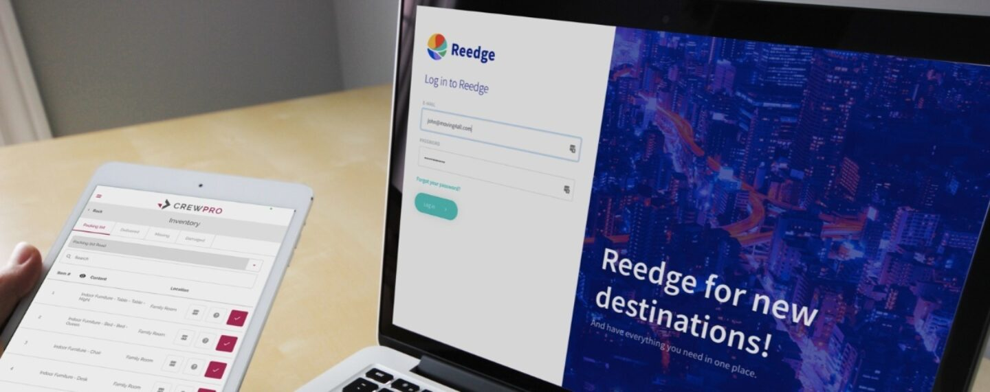 Reedge moving software integrates with crewpro